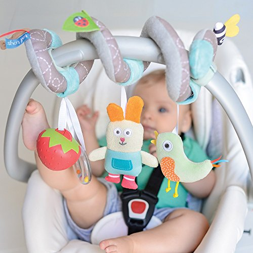 Best Gift Suitable for New-Born Hanging Toys to Keep Baby Happy Fits Pram /& Stroller Baby/'s Entertainment On The Go Easier Outdoors Taf Toys Mini Moon Pram Mobile Play Set
